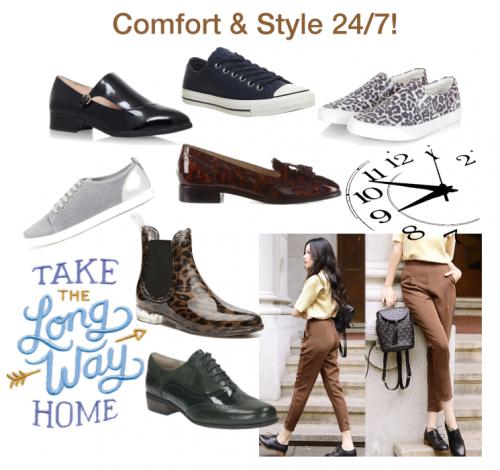 Flat Shoe Edit